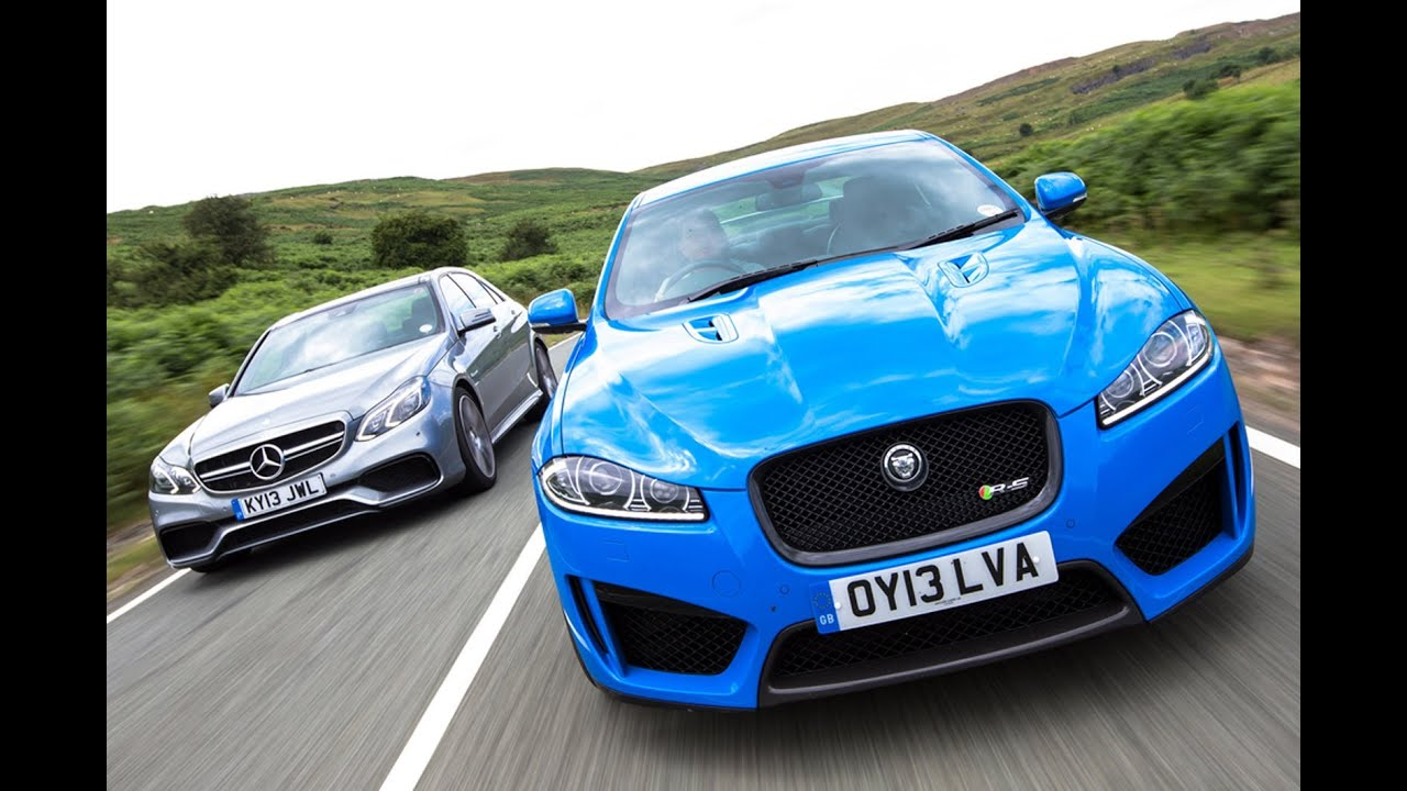 Supersaloon Showdown Jaguar Xfr S Vs Mercedes E63 Amg