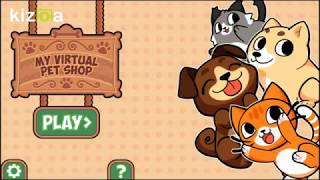 Магазин для животных. My virtual pets shop Игра на андроид