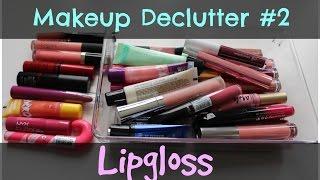 Makeup Declutter & Purge   #2 - Lipglosses Thumbnail