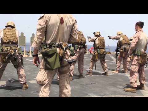 26th MEU Maritime Raid Force Live Fire