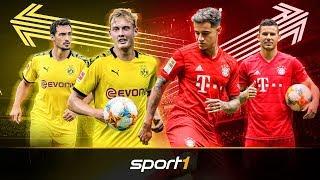 BVB vs. FC Bayern: Darum hat Borussia Dortmund besser eingekauft   SPORT1 - TRANSFERMARKT-SHOW