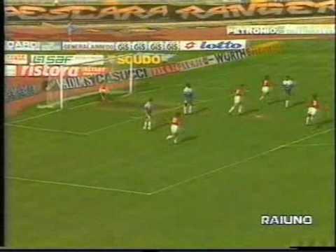 Pescara 4-5 Milan - Campionato 1992/93