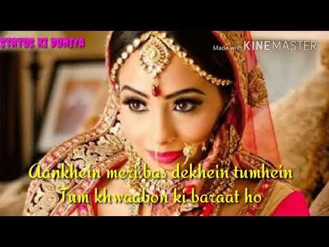 Main tumhare saath hoon Zindagi bhar tum mere saath ho, What'saap video status,female Version status