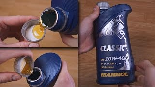Mannol Classic 10W40 original engine oil show