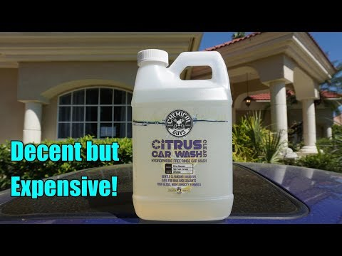 Chemical Guys Citrus Car Wash Clear Review on my Honda Prelude. 2018