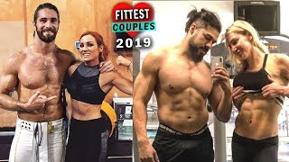 10 Fittest WWE Couples 2019 - Seth Rollins & Becky Lynch, Andrade & Charlotte Flair