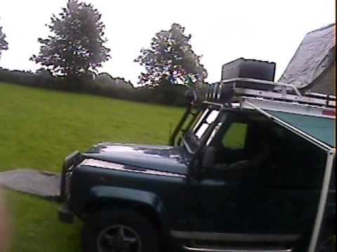 roof tent for Land Rover defender