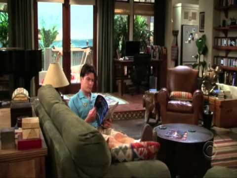 Enrique Iglesias Scenes From Two And A Half Men S04e23 Youtube