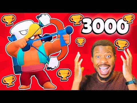 Finally 3000+🏆 Trophy BO UNLOCKED! l Brawl Stars
