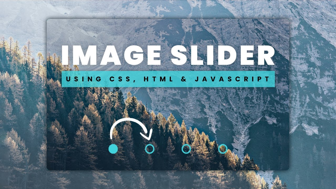 How to Design an Image Slider With Auto-play & Manual Navigation Buttons Using CSS, HTML & Javascript