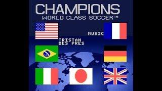 【SFC】 チャンピオンズ ワールドクラスサッカー (Champions World Class Soccer) SNES Credits Staff 1994
