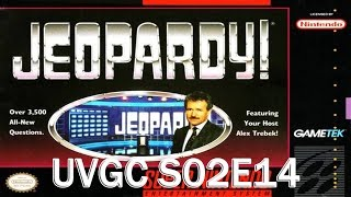 Jeopardy! Deluxe Edition (SNES) - The Unnamed Video Game Challenge 2
