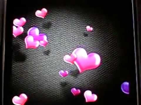 Hearts Live Wallpaper - maxelus.net - YouTube