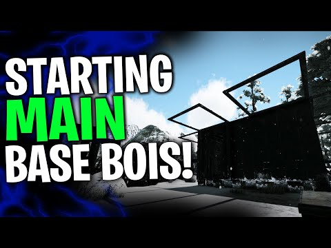 STARTING THE MAIN BASE! -Solo/Duo PvP Servers - Ark Survival Evolved Ep.6