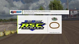 Australian Sprint Car Championship  |  Round 1  |  Volusia