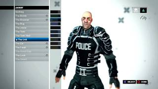 Brink: Character Customization - Security
