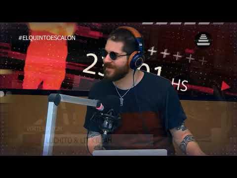 ÉPICO PING PONG DE LIT KILLAH Y LUCHITO - El Quinto Escalon Radio (19/10/17)