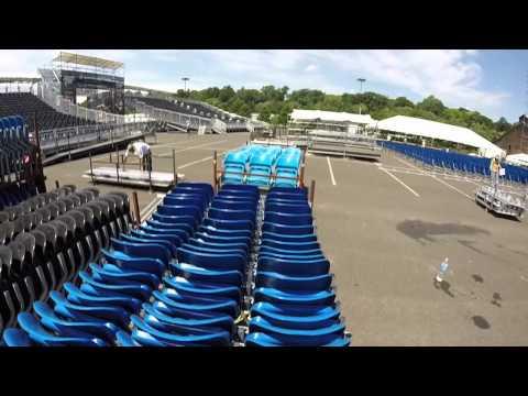 Sands Steel Stage seating setup for Musikfest 2015