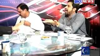 Another Intense Fight Between Mian Manan and Fiaz Chohan in a live show