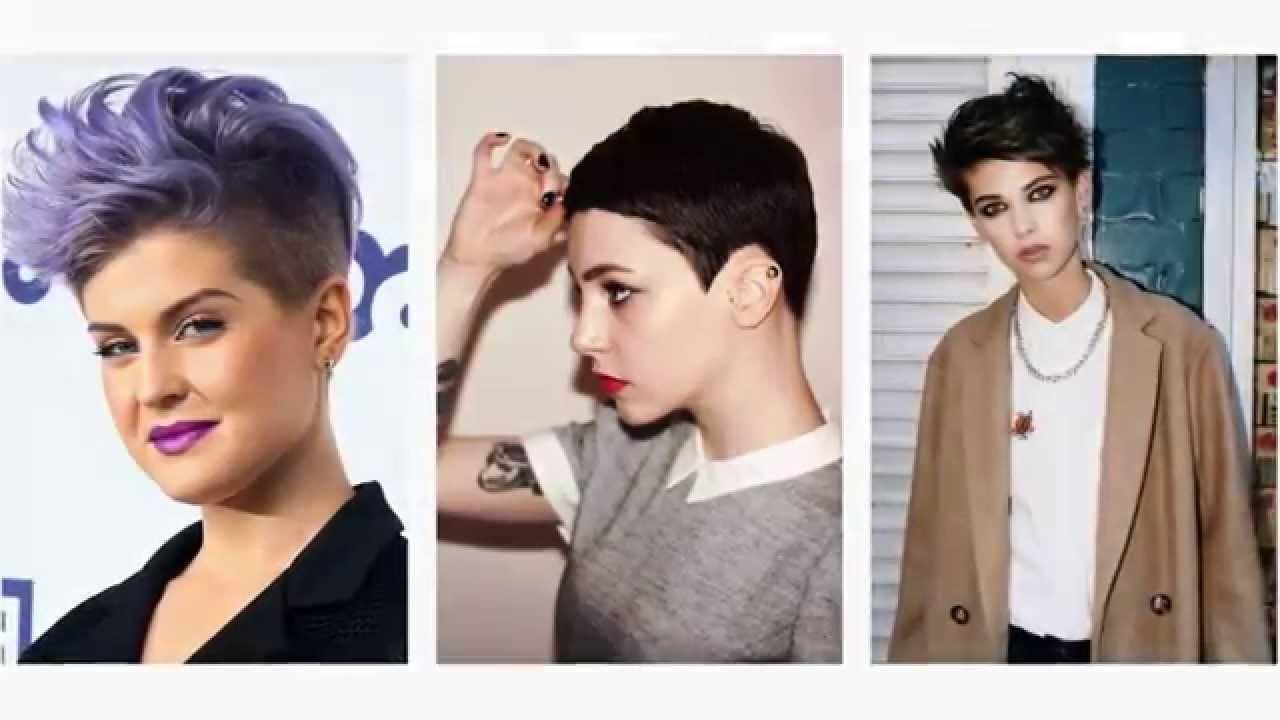 Populaire Tagli di capelli corti femminili - YouTube GK39