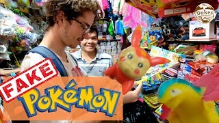 FAKE Chinese Pokemon Toys IN VIETNAM! Giveaway Competition! Made in China