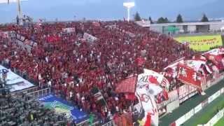 Jリーグ2ndステージ第1節 松本平広域公園総合球技場アルウィン 選手入場.