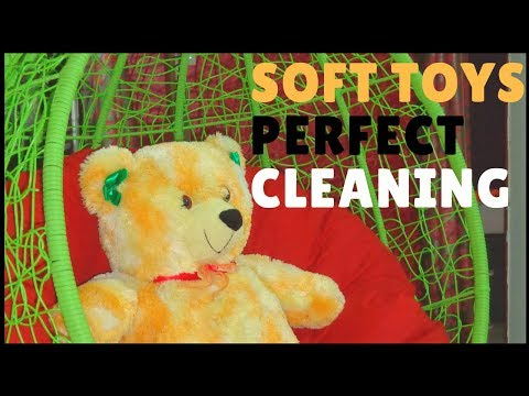 PERFECT SOFT TOYS CLEANING AT HOME | Stuffed Toys