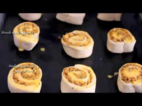 recette-de-pains-farci-a-la-viande-/-snail-rolled-bread-with-meat