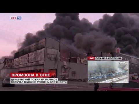 На пожаре в Колтушах ликвидировано открытое горение