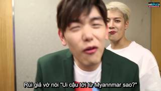 [VIETSUB] GOT7 Jackson 's crazy Interview with Eric Nam