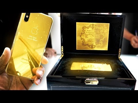 Download Youtube: BUYING A 24K GOLD IPHONE X IN DUBAI