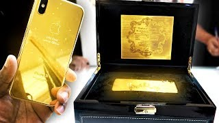 BUYING A 24K GOLD IPHONE X IN DUBAI