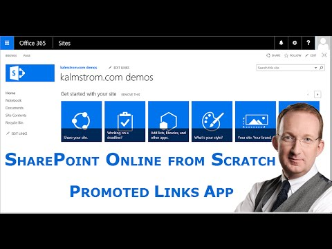 Promoted Links App - a SharePoint Online from Scratch tutorial
