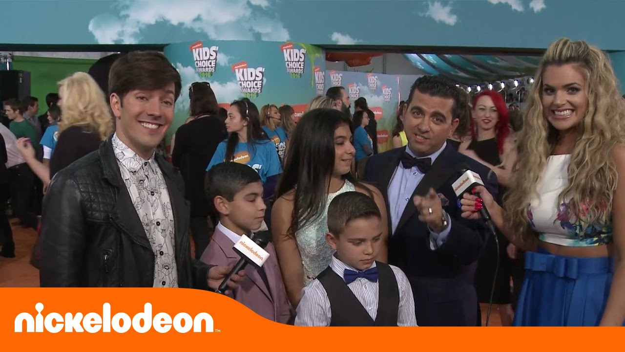 Cake Boss no Tapete Laranja Kids Choice Awards 2016 YouTube