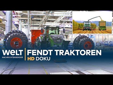 Traktor, Mhdrescher & Erntemaschinen - Das Fendt Landmaschinen-Werk | HD Doku