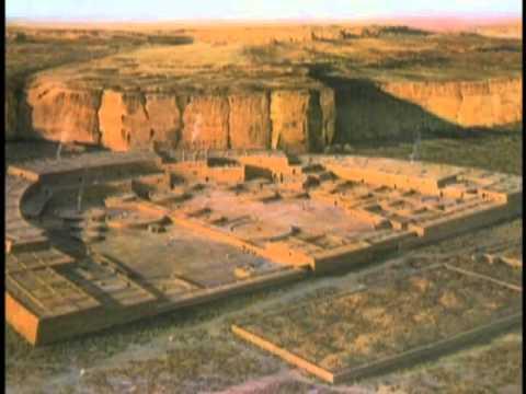 Vegas PBS Center of Anasazi Life  Chaco Canyon  Pueblo Bonito and Casa Riconada
