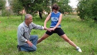 Упражнения для растяжки ног(Канал Елены на YouTube - https://www.youtube.com/user/HelenHobbies У нас Вы можете заказать индивидуальную программу тренировок..., 2013-09-15T18:10:53.000Z)