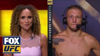 TJ Dillashaw talks to the UFC on FOX crew   INTERVIEW   UFC 227