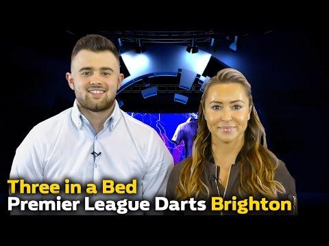 Three In A Bed | PL Darts Brighton  | Sophia De Stefano & Mackenzie Cadman