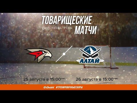 Товарищеский матч Омские Ястребы - Алтай