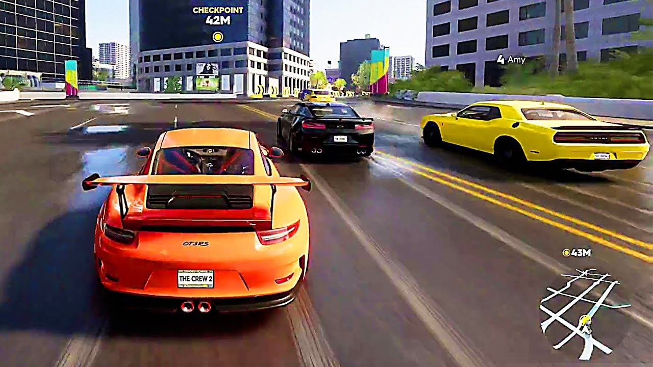 Une heure de GAMEPLAY de THE CREW 2 (2018) - YouTube