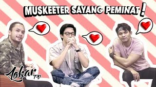 Video LOKAR TV X FIXI : GANTUNG THE SERIES MUSKEETERS INTERVIEW PART 2/2 download MP3, 3GP, MP4, WEBM, AVI, FLV Agustus 2018