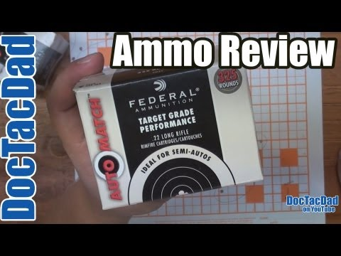 Federal Auto Match.22LR - Ammo Review