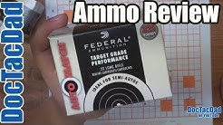 Federal Auto Match .22LR - Ammo Review