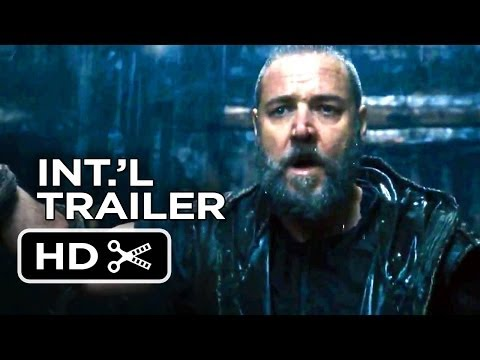 Noah Official International Trailer #2 (2014) - Russell Crowe Movie HD