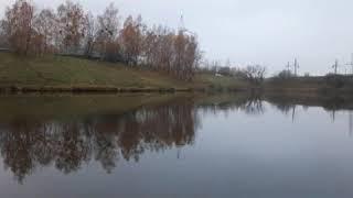 Рыбалка на озере вблизи трассы М6 Гродно Минск