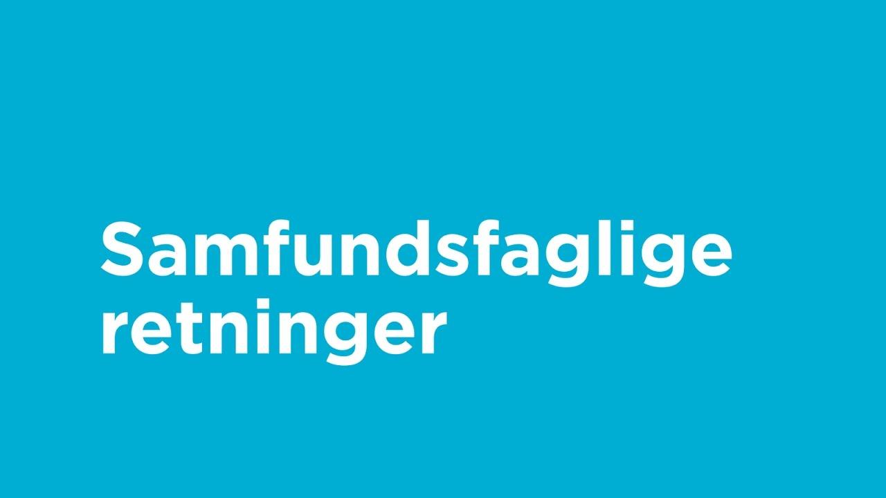 Øregård Gymnasium - Samfundsfaglige retninger