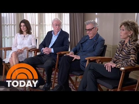 Michael Caine, Jane Fonda Talk New Film 'Youth'… And Getting Older | TODAY