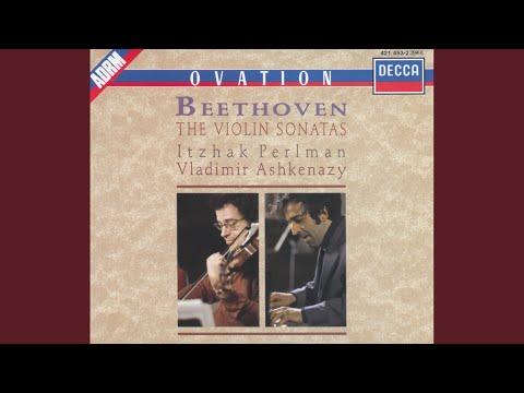 Beethoven: Sonata For Violin And Piano No.3 In E Flat, Op.12 No.3 - 2. Adagio con molt' espressione