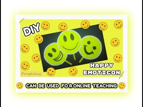 Episode 4 - DIY Happy Emoticon (Ideas on how to apply links provided in the video)